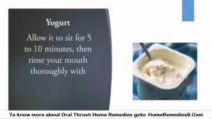 Oral Thrush Home Cures - Natural Home Remedies For Oral Thrush