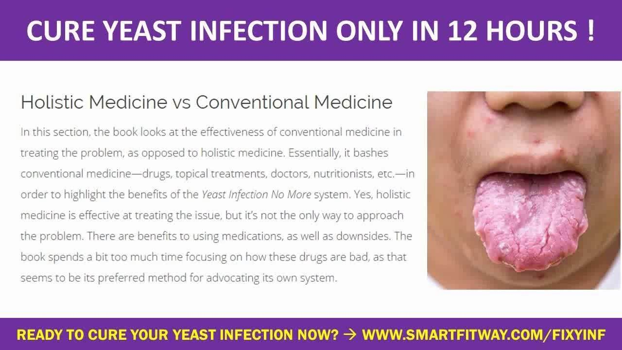 Do yeast infections go away by themselves