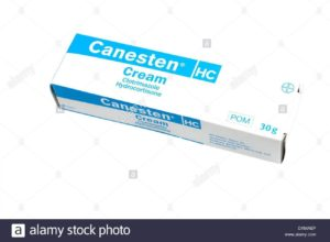 Hydrocortisone Cream Stock Photos
