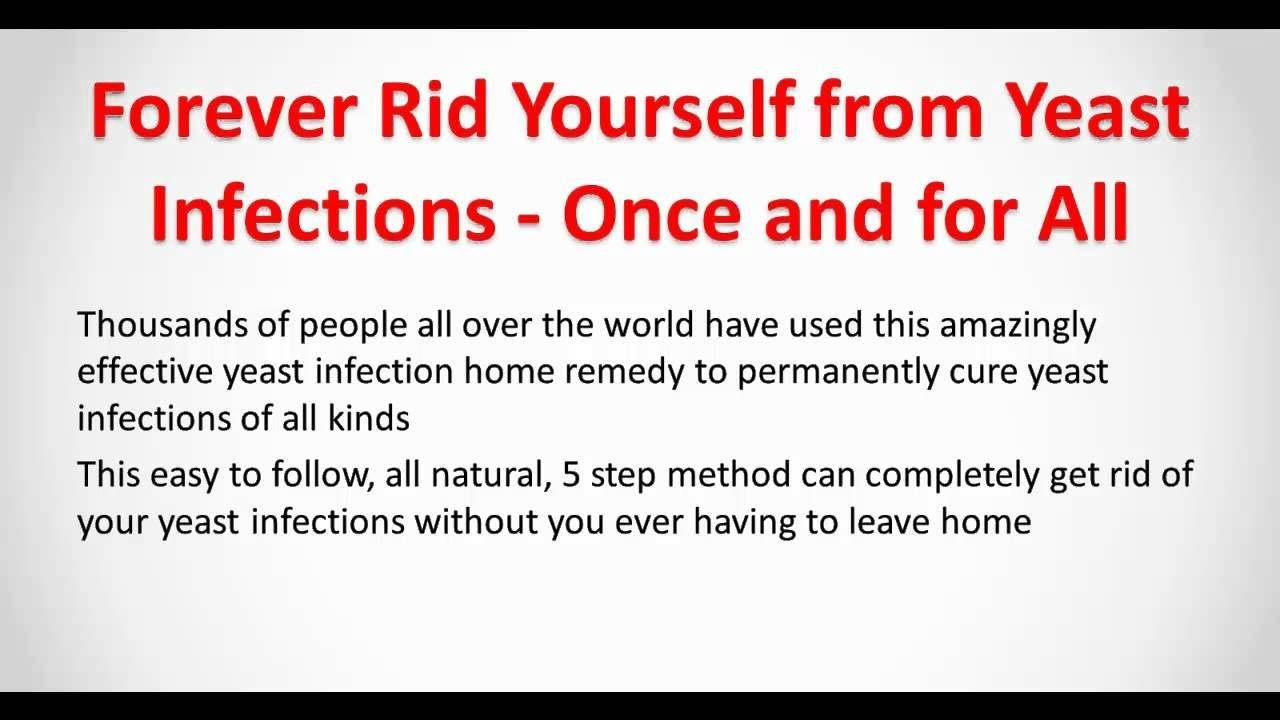 How to treat candidiasis at home by yourself